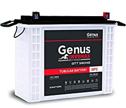 Genus Invomax GTT56048 PP 150 AH @ C20 Rating Tall Tubular Inverter Battery for Home and Office