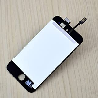 FidgetKute New LCD Display + Touch Screen Digitizer Assembly for iPod Touch 4 Black A1367