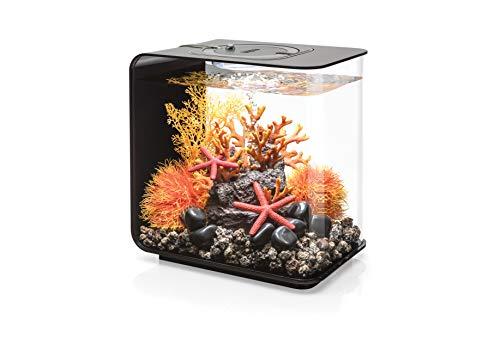 Oase biOrb FLOW 15 LED Aquarium, 15 Liter - Aquarien Komplett-Set mit LED Beleuchtung und patentiertem Filter-System, Acryl-Becken