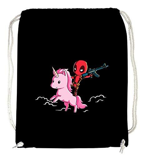 Certified Freak Pool Unicorn Gymsack Black