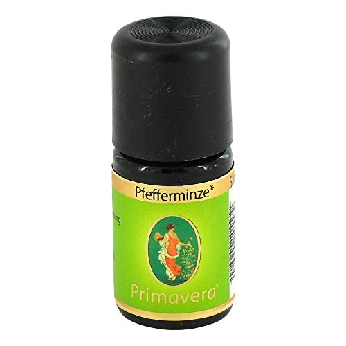 Preisvergleich Produktbild PFEFFERMINZE kbA ätherisches Öl 5 ml Ätherisches Öl