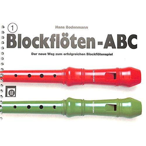 BLOCKFLOETEN ABC 1 - arrangiert für Sopranblockflöte [Noten / Sheetmusic] Komponist: BODENMANN HANS