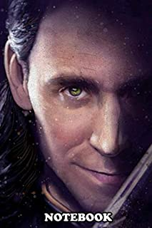 Notebook: Loki , Journal for Writing, College Ruled Size 6