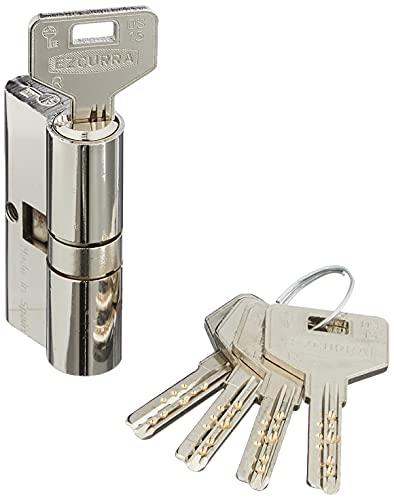 Ezcurra 5004D5 Cilindro Seguridad Ds-15 30-30 Niquelada Mate