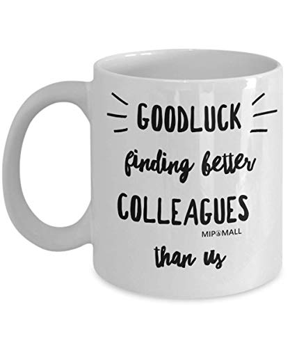 Funny Leaving Gifts Mugs for Colleagues Boss Friends Men Women, Christmas...