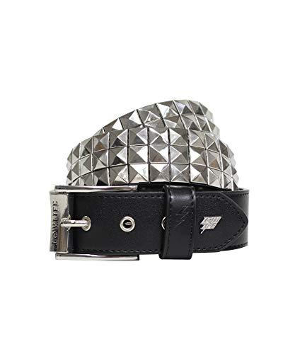 Lowlife Triple S Belt - Black Silver - X Small