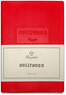Pineider - Quaderno Hollywood 14,5 x 21 96 F 90 GL-IV-WOMAN IN RED