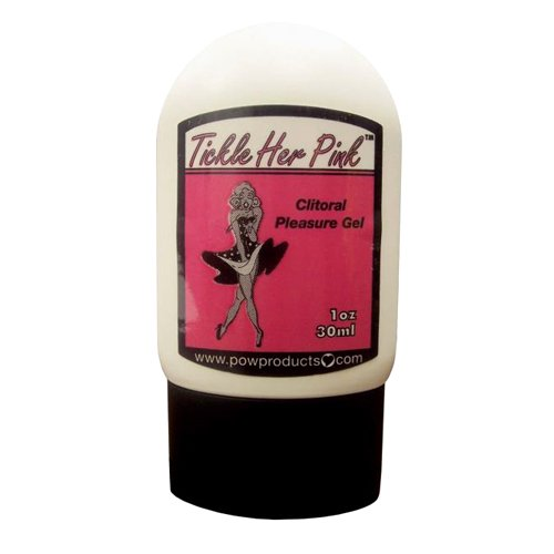 Secretly Pink Clitoral Gel, Tickle Her Pink, 1 Ounce