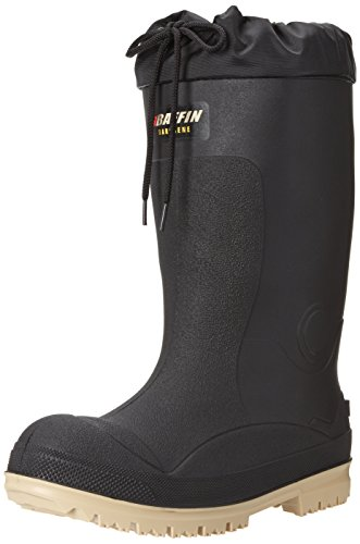 winter rubber boots Baffin Titan (STP) – Men's Winter, Waterproof/B-Tek Insulated, Tall Height Pull-on Rubber Boot with Snow Collar (CSA/ASTM Approved) (ESR/EH Rated)