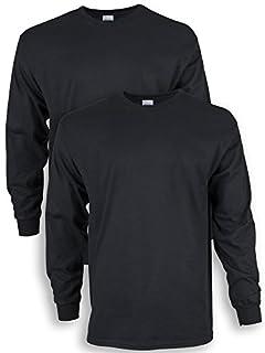 Gildan Men's Ultra Cotton Long Sleeve T-Shirt, Style G2400, 2-Pack, Black, Small (B076831CCJ) | Amazon price tracker / tracking, Amazon price history charts, Amazon price watches, Amazon price drop alerts