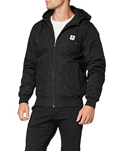 Element Wolfeboro Dulcey - Giacca Impermeabile Da Uomo Giacca Impermeabile, Uomo, Flint Black, XL