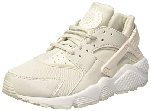 Nike Wmns Air Huarache Run, Scarpe da Ginnastica Basse Donna, Multicolore (Phantom/Light Bone-S 028), 40.5 EU