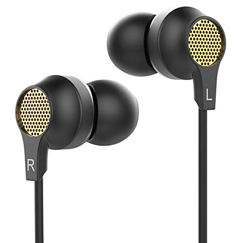 Walkercam, Auriculares in Ear con Micrófono y Control Remoto, Negro-G