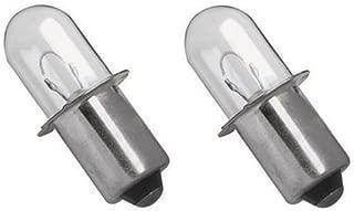Ximoon (2 18V Xenon Krypton Flashlight Bulb for Black and Decker PC1800L PC18FL FSL18 Porter Cable