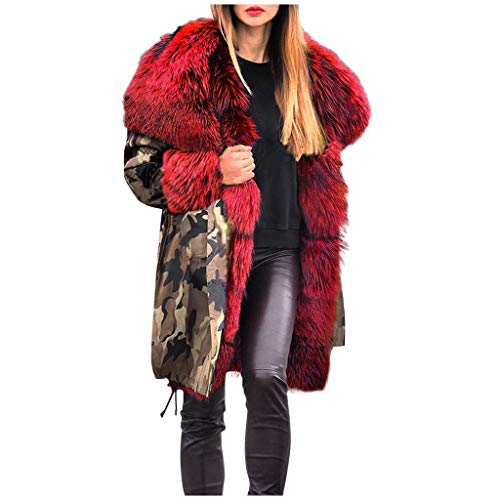 Great Features Of sheart 9 Women Thicken Warm Winter Coat Hooded Faux Fur Lined Parkas Anoraks Outwe...