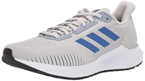 adidas Men's Solar Ride Running Shoe, Grey/Collegiate Royal/Black, 10 M US
