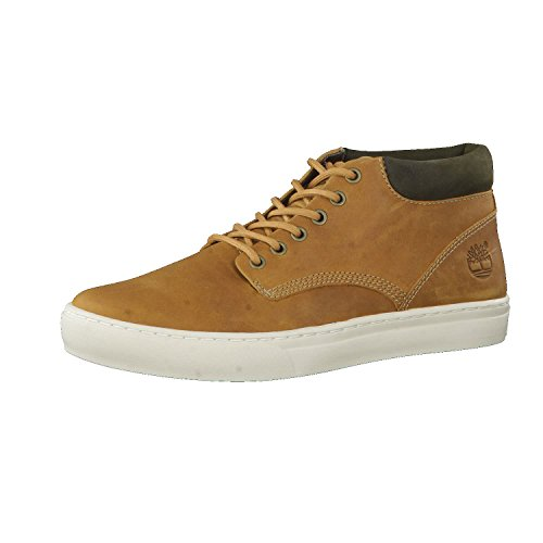 Timberland Adventure 2.0 Cupsole Chukka, Sneakers Alte Uomo, Giallo Yellow Wheat, 43 EU