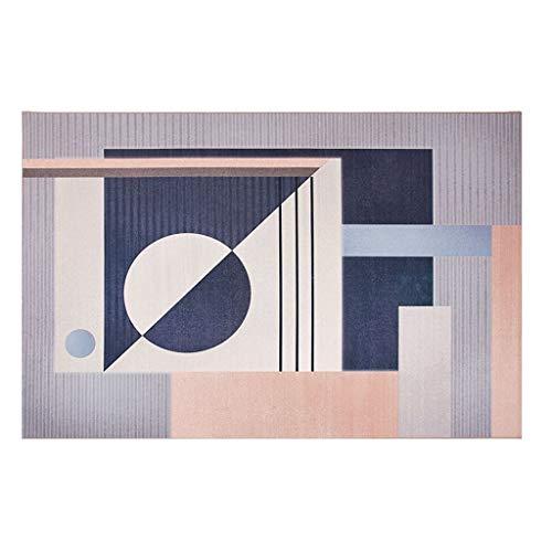 Ya-Ya tapijt, comfortabel en duurzaam chenille, rechthoekig tapijt, creatief tapijt voor woonkamer, van antislip kunststof