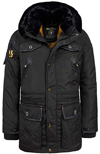 Geographical Norway Herren Winterjacke Acrobate Black L