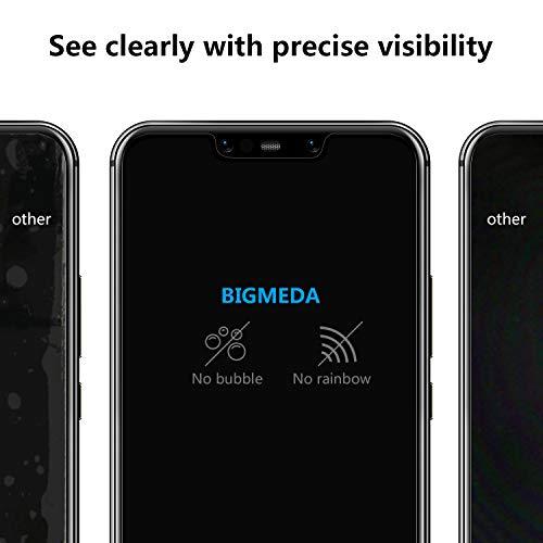 Bigmeda Schutzfolie für Huawei Mate 20 Lite,Blasenfrei, Anti-Kratzen, Anti-Öl, HD Klar Flexible Displayschutzfolie für Huawei Mate 20 Lite Folie [3 Stück] - 6