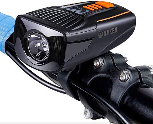 Asvert Luce Anteriore Bici USB Luci LED per Bicicletta Ricaricabili Impermeabile IP65 Fanalini Anteriori Super Luminoso Luci Biciclette per MTB Bici da Strada Montagna Corsa Monopattino Elettrico