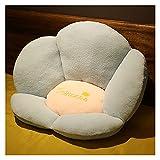 Cojín del colchón de la Silla del salón de la Oficina del Palo del Asiento para el sillón Cojines Sillas Comedor (Color : Black, Specification : 40x40x55cm)