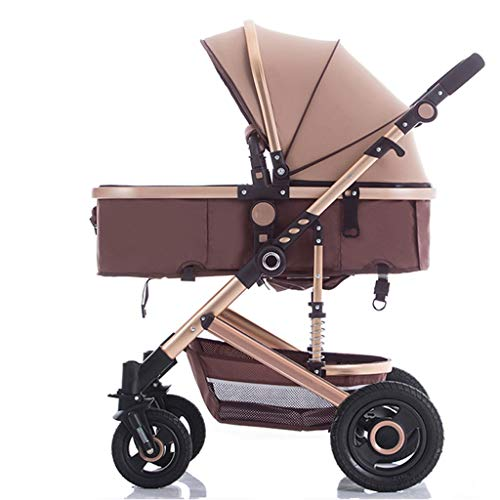 Fantastic Deal! High Landscape Stroller for Reclining, Folding, Four Seasons Available, Shock Absorb...