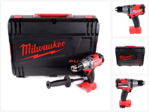 Milwaukee M18 FPD-0X drill Schwarz, Rot - Drills (1,3 cm, 4,5 cm, 135 Nm, 32000 BPM, 550 RPM, 2000 RPM)