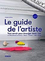 Le Guide de l'artiste de Frederic Briere