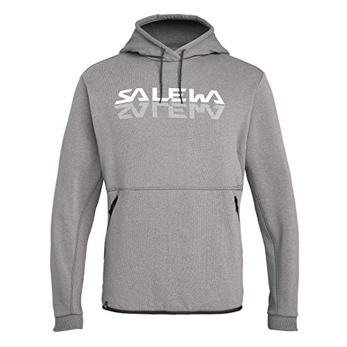 Salewa 00-0000027747_620 Hoodies Homme Grey Mélange FR: XL (Taille Fabricant: 52/X-Large)
