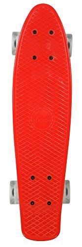 Awaii Vintage Skateboard Rouge Clair 22,5''