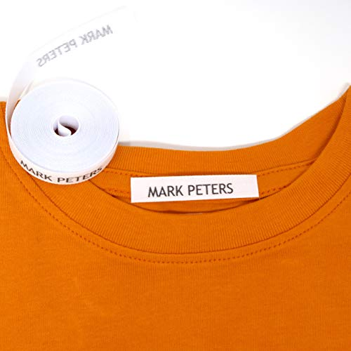 """20 ASSORTED COTTON BLANK /""""IRON ON/"""" NAME LABELS"""