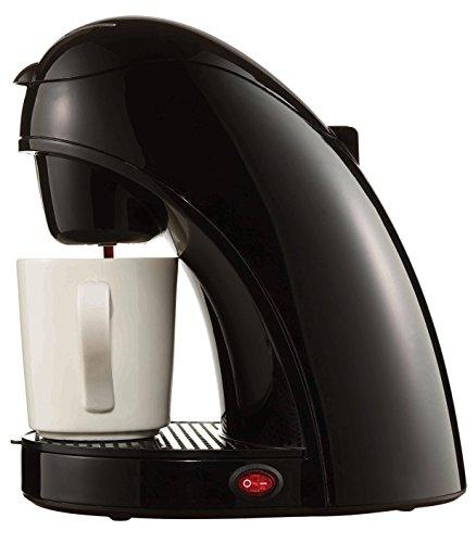 Brentwood Coffee Maker with Mug, Single Serve, Black
