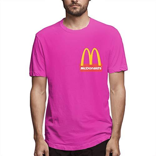 Daisyly Mens McDonalds Logo T Shirt Tshirt for Men...