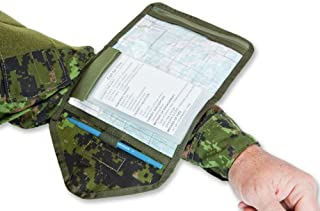 Combat Quarterback (Armband Checklist or Tactical Armband), with Removable Checklist Envelopes (for Notes/Maps) Included