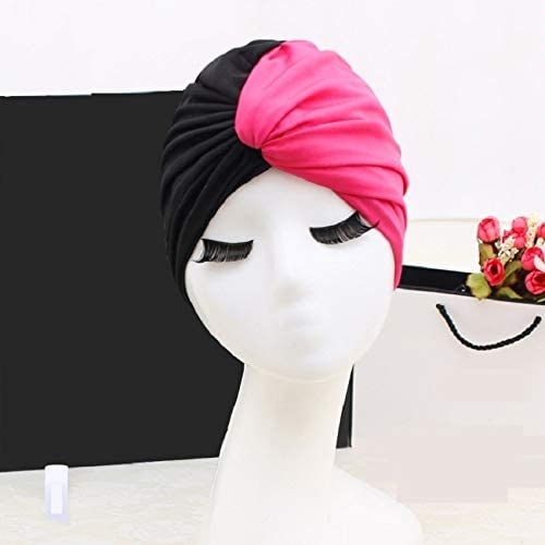 weichuang Swim Inventory cleanup selling sale Max 59% OFF Pool Splice Flower Swimming Elastic Hat for W Cap