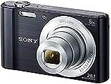 Sony DSC-W810 - Cámara compacta de 20.1 Mp (pantalla de 2.7', zoom óptico 6x, estabilizador digital), negro