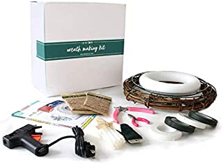 DIY Wreath Kit - A Wreath Making Kit is Perfect for Making Beautiful, Custom DIY Wreaths - Wreath Craft Kit Includes Everything You Need - Beginner Friendly Wreaths Kit - Wall or Door Wreath Kit