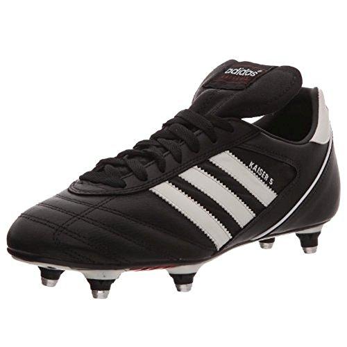 Adidas, Kaiser 5 Cup, Scarpe Sportive, Uomo, Nero (Schwarz (Black/Running White/Red)), 42 2/3