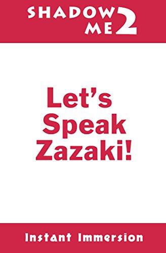 Shadow Me 2: Let's Speak Zazaki! (Shadow Me Language Series) (English Edition)