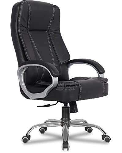 Green Soul Vienna High-Back Leatherette Executive Office Ergonomic Chair (Black)