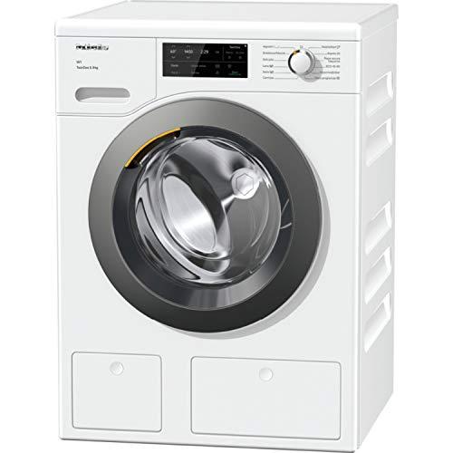 Lavadora de carga frontal W1 modelo WCD660 WCS TDos & de 8Kg Con TwinDos y Miele@home, acabado blanco, A+++, color blanco, 63,6 x 59,6 x 85 centímetros (referencia: Miele 11WE6601E)