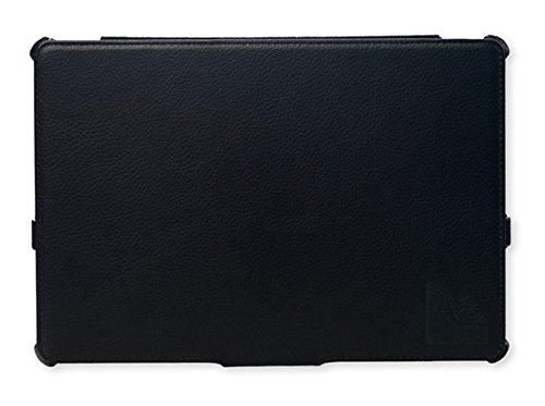 Die original GeckoCovers ASUS MeMo Pad Smart 10 / FHD 10 Asus ME301T / ME302C Hülle Schutzhülle Hülle Cover Tasche mit Aufsteller - Mit original Gecko Applikation & Stand - & Präsentationsfunktion sowie Slimfit Design (Asus ME301T / ME302C schwarz)