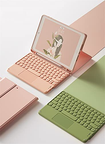 2021 iPad pro3 11インチ キーボード付き ケース カバー トラックパッド 2021 iPad 12.9 タッチパッドキーボード ケース 丸いキー タッチパッド iPad 8 7 6 5 Air 4 3 2 Pro 10.5 11 12.9