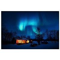 スウェーデンアビスコオーロラスカイステーションジグソーパズル1000ピースゲームアートワーク旅行お土産木製