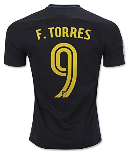 Nike Trikot Atletico Madrid 2016-2017 Away (Torres 9, 128)