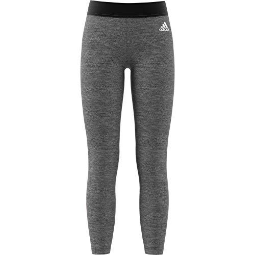 adidas - Running Kompressionshosen für Mädchen in Dark Grey Heather/Haze Coral, Größe 164