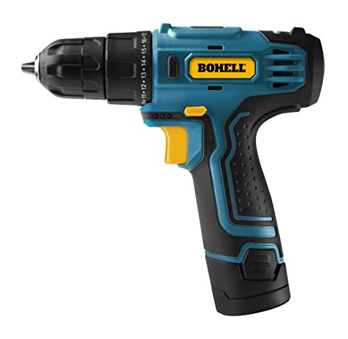Bohell TALI12 – Taladro atornillador sin cable con batería de litio de...
