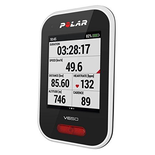 POLAR(ポラール)【日本正規品/日本語対応】GPSサイクルコンピュータPolarV650N90069624ホワイト
