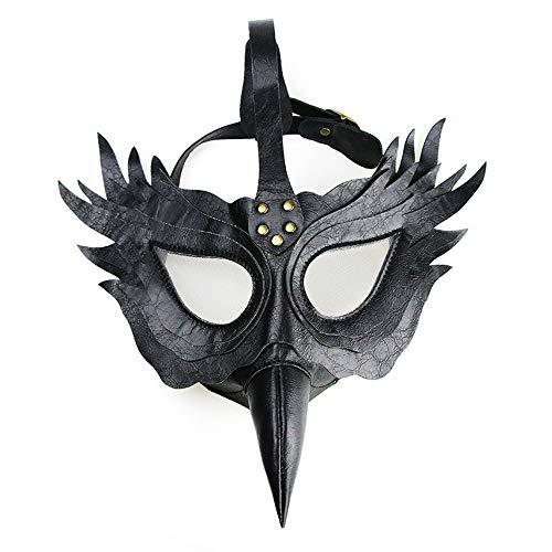 VISTANIA Máscara De Pájaro Plaga Médico Medieval Steampunk Máscara De Halloween Disfraces